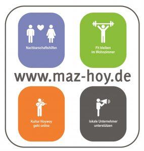 Logo von Mit Abstand zusammenrücken